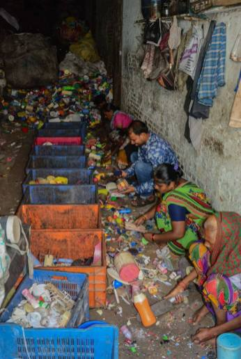 Plastic Recycling Industry in Dharavi - 1