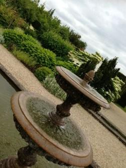 arty fountain shot