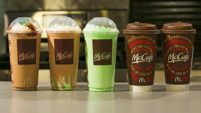 Owocowy shake w wersji large w McDonald's w San Francisco, USA   Sway the way