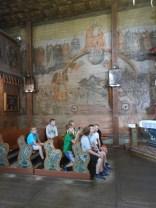 Wizyta w Bliznem, szlak architektury drewnianej