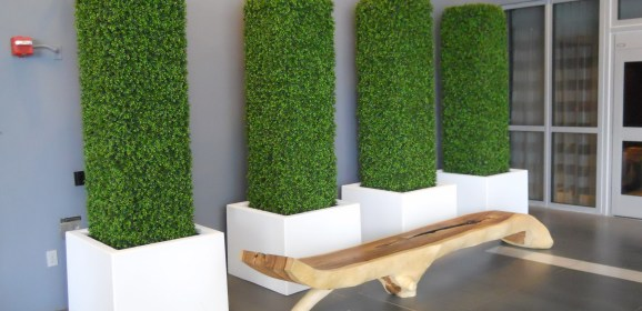 Metal Planters In American Architecture