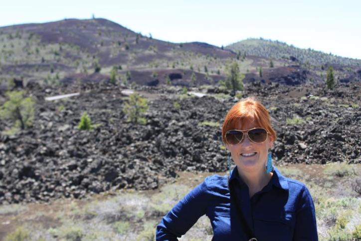 Happy hiking through Craters of the Moon.
