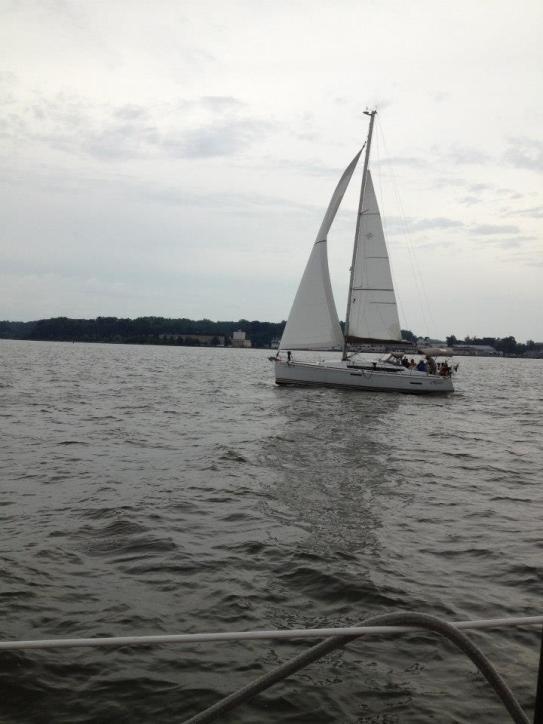 Sailing in Annapolis.
