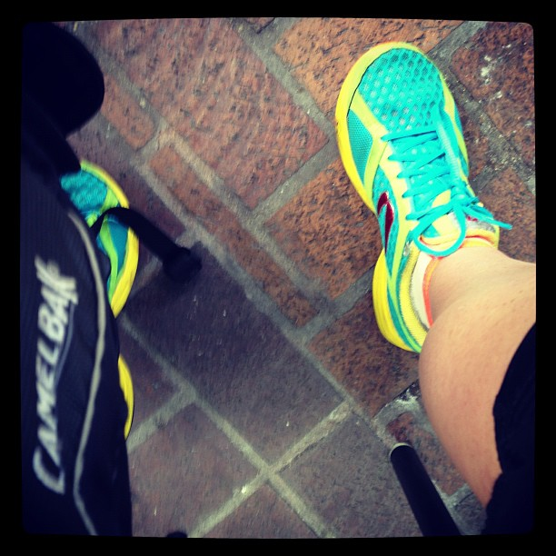 Newtons and Camelbak. You guessed it- its long run time!