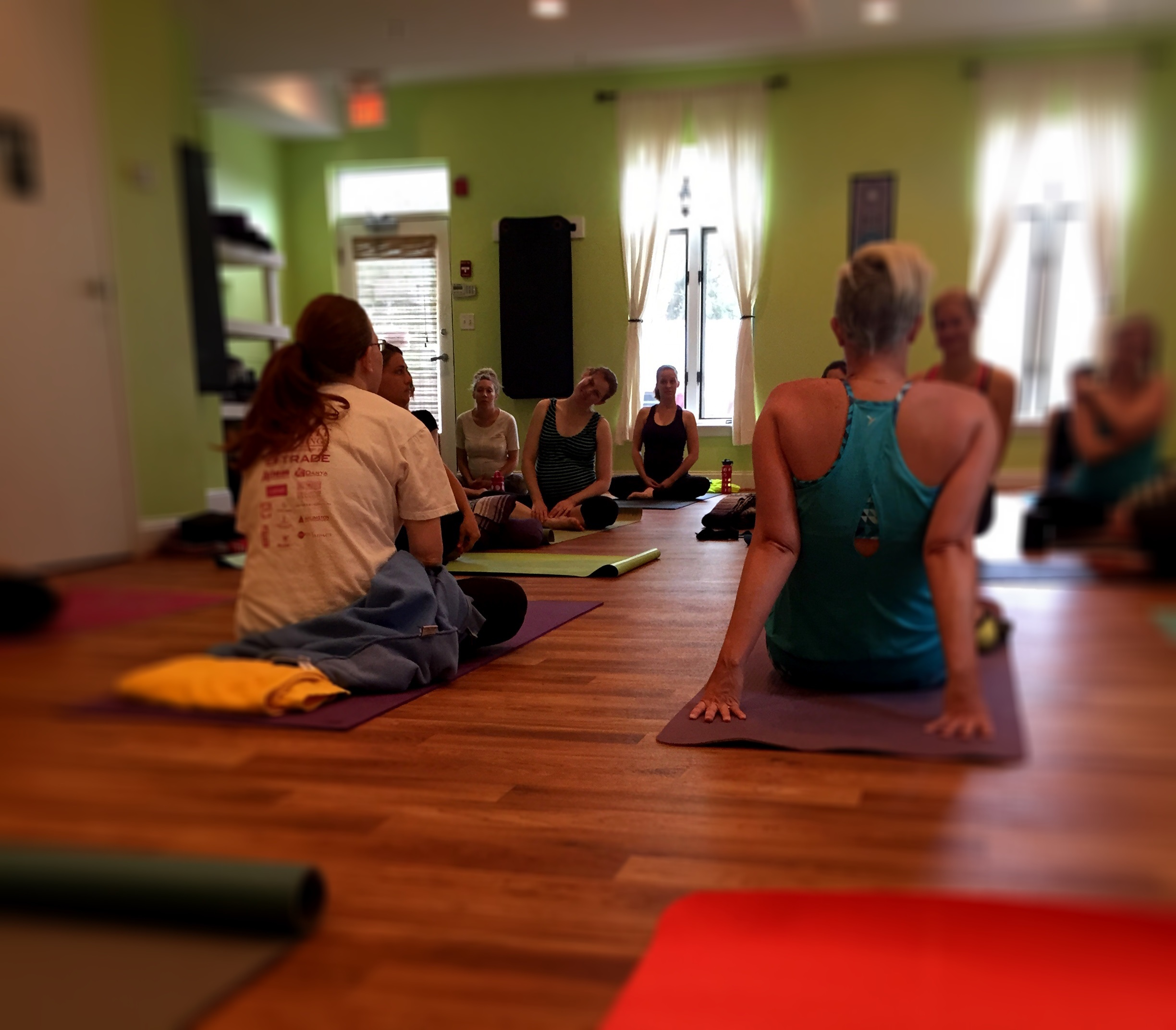Prenatal Yoga at Mind the Mat