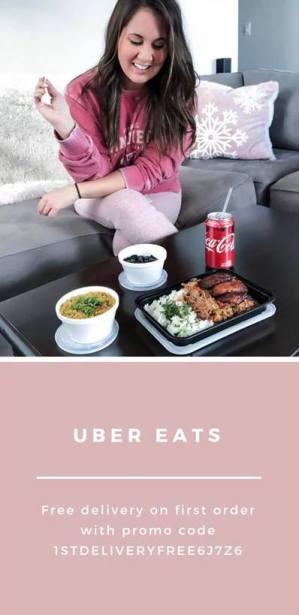 Uber Eats Ambassador Code | Sweating Champagne