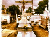 Louisiana cemeteries are ironically beautiful and filled with a strange mystery. Photo Credit: Wendie Burbridge