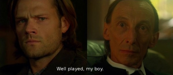 Supernatural Season 9 premiere Sam and Death