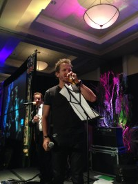 Sebastian Roche singing.
