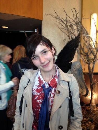 Supernatural BurCon 2013 bloody Cas