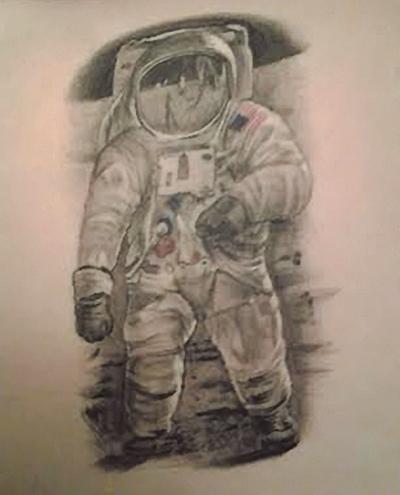 Meg Neil Armstrong Tattoo
