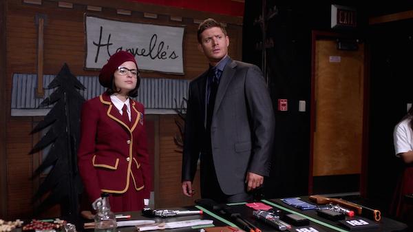 12 Supernatural Season Ten Episode Five SPN S10E5 Fan Fiction Dean Winchester Marie Jensen Ackles Katie Sarife 200th Episode