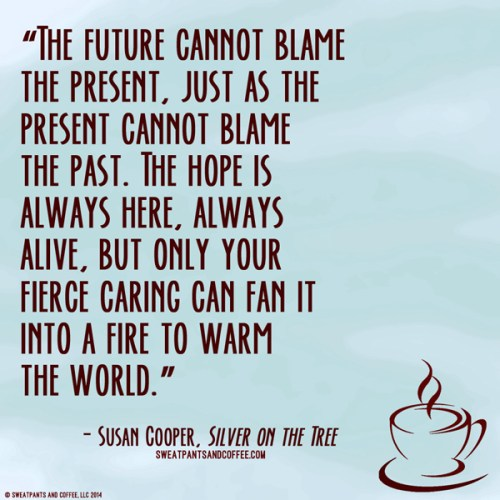Susan Cooper Silver On The Tree quote