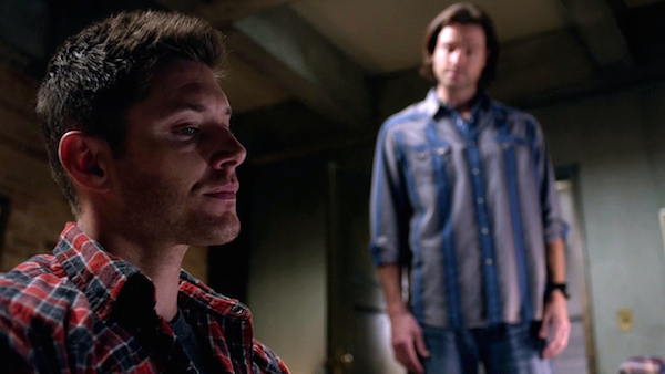 1 Supernatural Season Ten Episode Twelve SPN S10E12 About A Boy Sam Dean Winchester Jensen Ackles Jared Padalecki Bunker