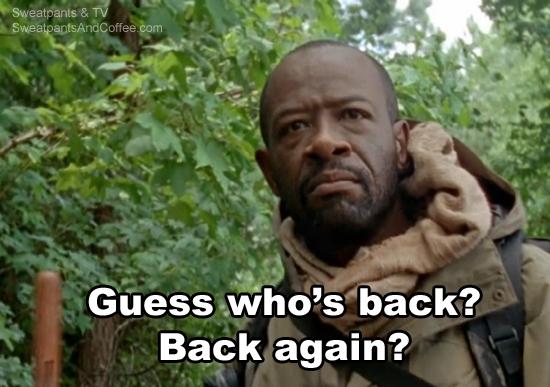 The Walking Dead s5e16 Morgan