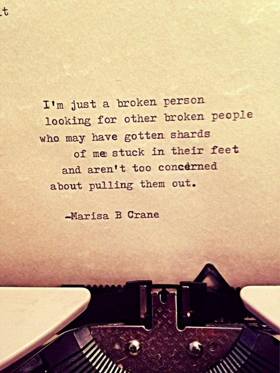 Broken by Marisa Crane