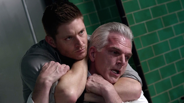 23 Supernatural Season Ten Episode Twenty Two SPN S10E22 The Prisoner Dean Winchester Jensen Ackles Monroe Styne Marcus Flanagan