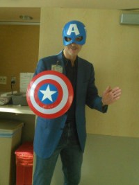 John's doctor Christopher Evans