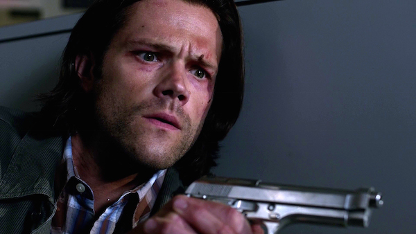 5 Supernatural SPN Season Eleven Episode One S11E1 Out of the Darkness Into the Fire Jared Padalecki Sam Winchester