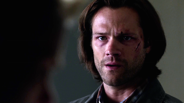 8 Supernatural SPN Season Eleven Episode One S11E1 Out of the Darkness Into the Fire Jared Padalecki Sam Winchester
