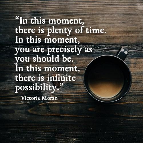 Victoria Moran quote