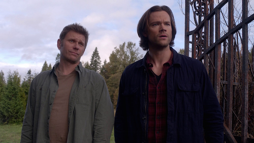 7 Supernatural SPN Season Eleven Episode Ten S11E10 The Devil in the Details Sam Winchester Lucifer Jared Padalecki Mark Pellegrino