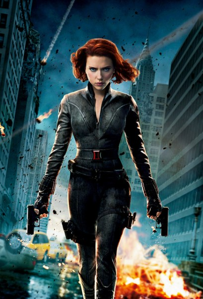 Avengers Black Widow poster photo by marvelousRoland, CC 2.0 license