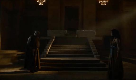 Game of Thrones 6x3 Varys & Vala