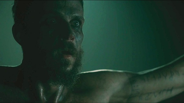 What does Ragnar say before cutting Floki down?