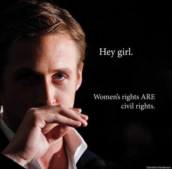 Photo 2. S&C Women's March Hey Girl