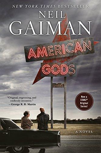 Shelf Awareness 3 – American Gods by Neil Gaiman