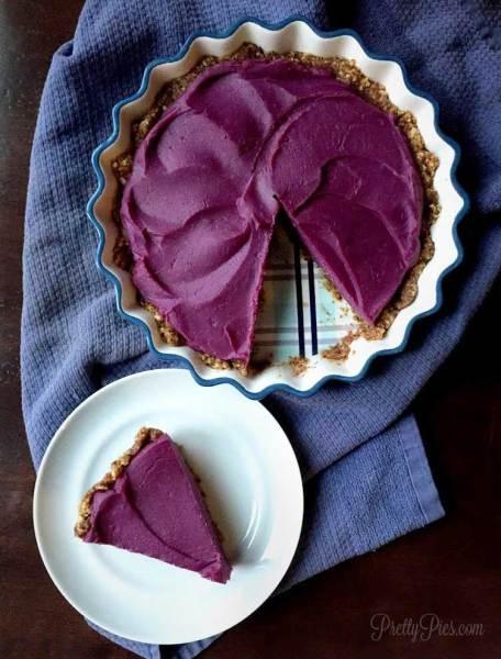 Purple Sweet Potato pie recipe