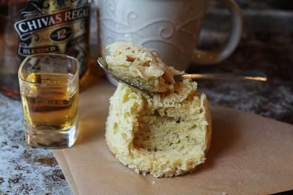 Vanilla Whisky Keto Mug Cake by Ruled.me