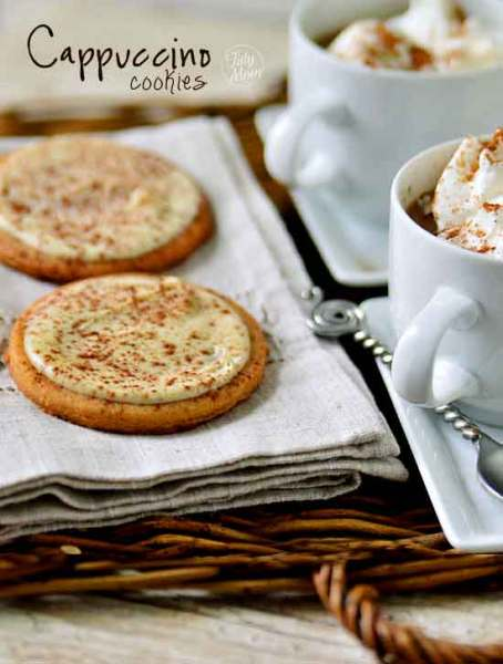 Cappuccino Cookies recipe by Tidy Mom