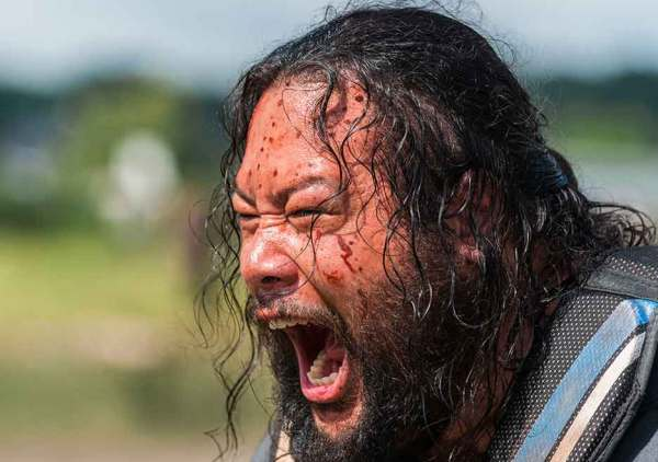 The Walking Dead season 8 episode 4 Some Guy Jerry Cooper Andrews