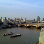 View from OXO Tower Restaurant