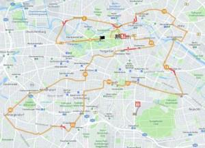 Marathon track