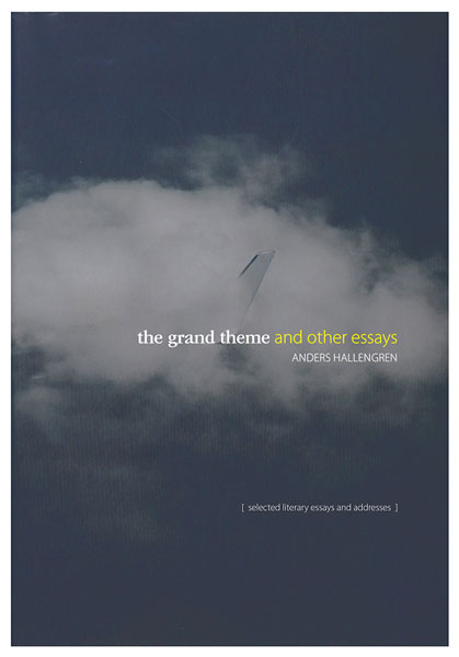 the grand theme and other essays foundation the grand theme and other essays