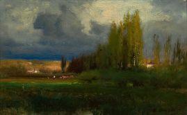 George Inness, Landscape Study (ca 1886)