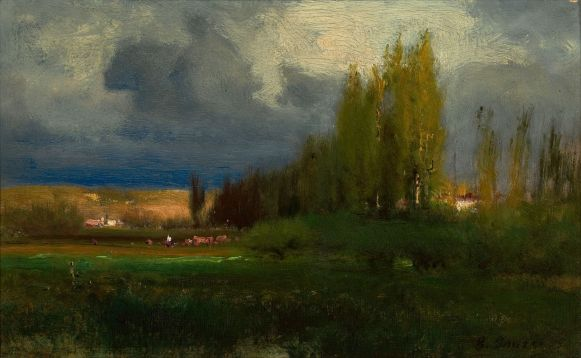 George Inness, Landscape Study (ca 1886)