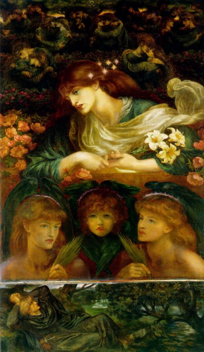 Dante Gabriel Rossetti, The Blessed Damozel (1875)