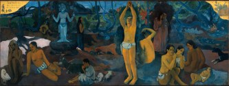Paul Gaugin, Where do We Come From? What are We? Where are We Going? (1898)