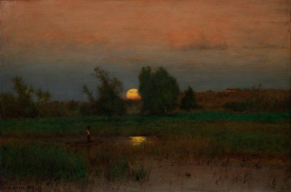 George Inness_Sunset