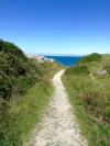 the path to the cliffs