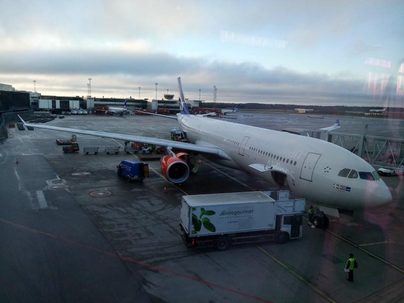 SAS A330-300 at Arlanda 北歐航空 A330-300 在亞蘭達