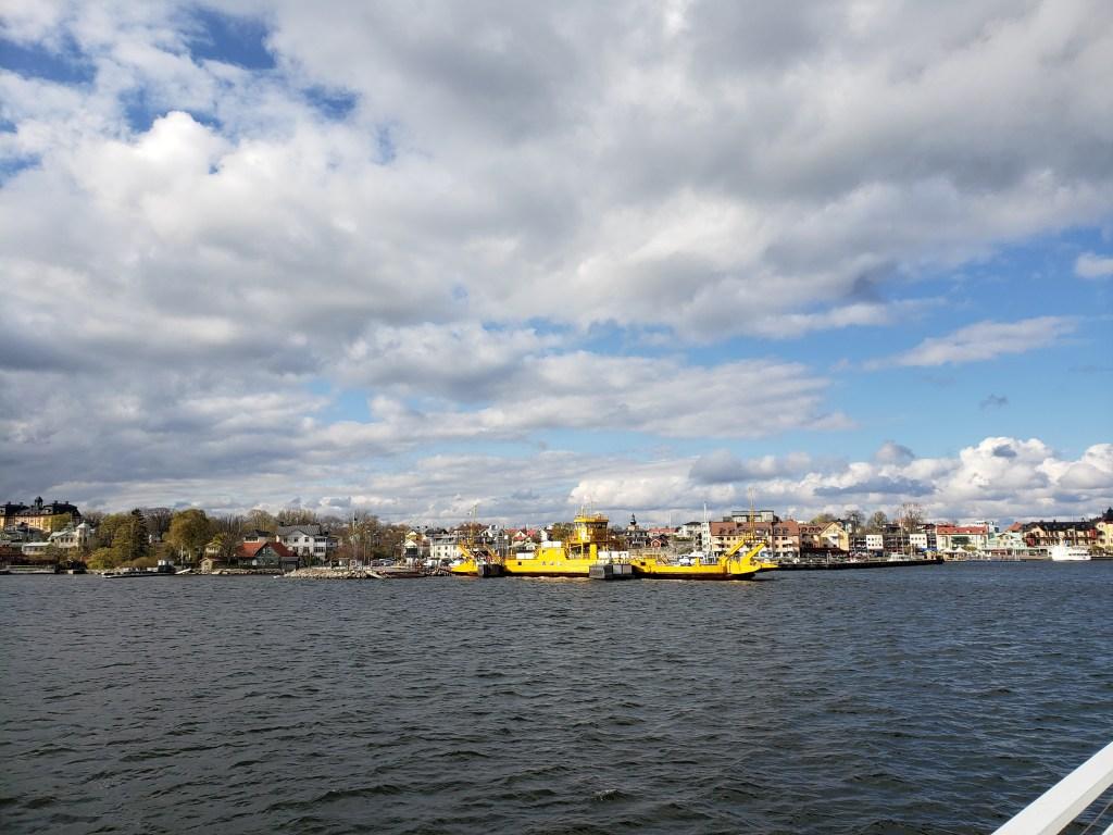 Vaxholm town