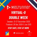 Metrunner Virtual Orienteering Double Week with Sweden and Thailand