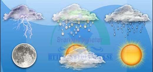 حالة الطقس ودرجات الحرارة في السويد