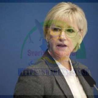 وزيرة الخارجية السويدية مارغوت وولستروم