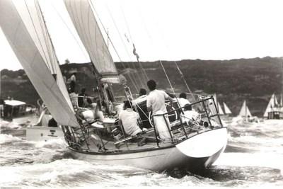 Fidelis, Siegerin der Sydney-Hobart Langstreckenregatta im Ziel © Rolex Sydney Hobart Yacht Race